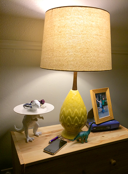 Perfectly placed in the home (alongside its brontosaurus brother).