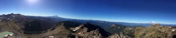 Mt. Adams, Mt. Hood, Mt. St. Helens, Mt. Rainier