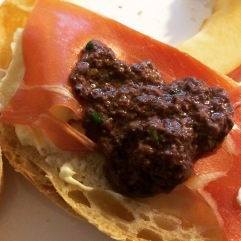 The best damn olive tapenade e-v-e-r